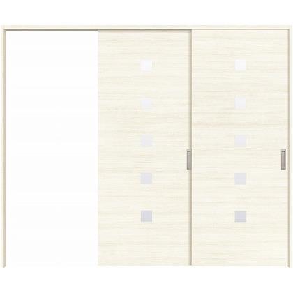 住友林業クレスト 長尺引き戸 角窓付パネル ベリッシュホワイト柄 枠外W2439×枠外H2300 HBATK13HAWB248JS3L 内装建具 1セット