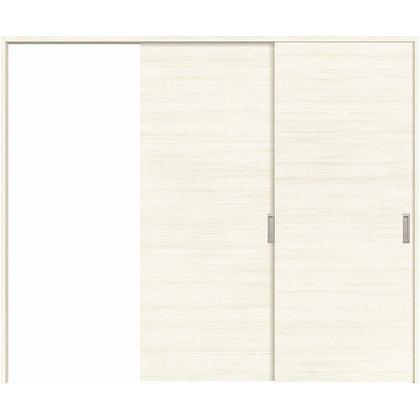 住友林業クレスト 長尺引き戸 フラットパネル横目 ベリッシュホワイト柄 枠外W2439×枠外H2032 HBATK01HAWB247JS3L 内装建具 1セット