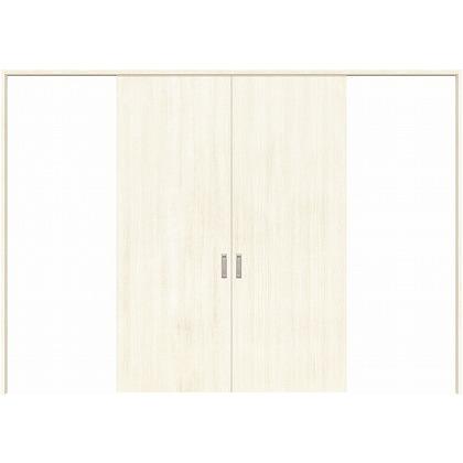 住友林業クレスト 長尺引き戸 フラットパネル縦目 ベリッシュホワイト柄 枠外W3259×枠外H2032 HBATK00HAWD257JS3 内装建具 1セット