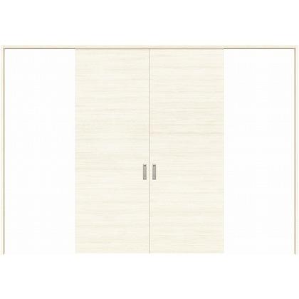 住友林業クレスト 長尺引き戸 フラットパネル横目 ベリッシュホワイト柄 枠外W3259×枠外H2032 HBATK01HAWD257JS3 内装建具 1セット