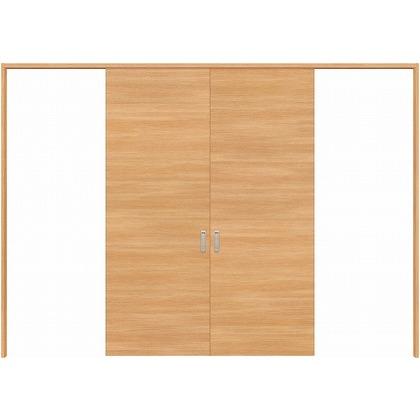 住友林業クレスト 長尺引き戸 フラットパネル横目 ベリッシュオーク柄 枠外W3259×枠外H2032 HBATK01HAAD257JS3 内装建具 1セット
