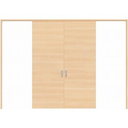 住友林業クレスト 長尺引き戸 フラットパネル横目 ベリッシュメイプル柄 枠外W3259×枠外H2032 HBATK01HAM3757JS3 内装建具 1セット