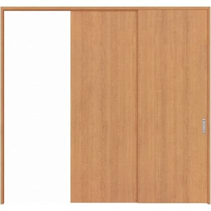 住友林業クレスト 長尺引き戸 フラットパネル縦目 ベリッシュチェリー柄 枠外W2439×枠外H2032 HBAUK00HAC3747JS3R 内装建具 1セット