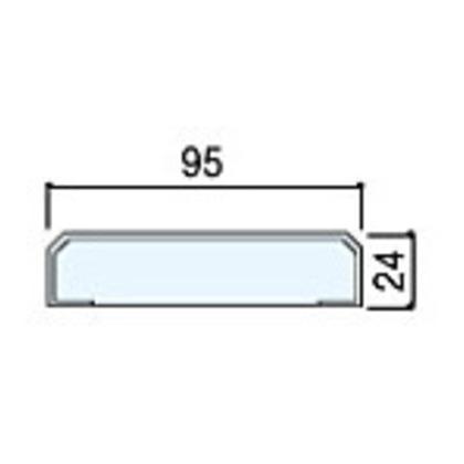 住友林業クレスト 無目枠一体枠タイプ ベリッシュオーク柄 幅W95×長さL2100 BA42AB09521 化粧造作材 2本