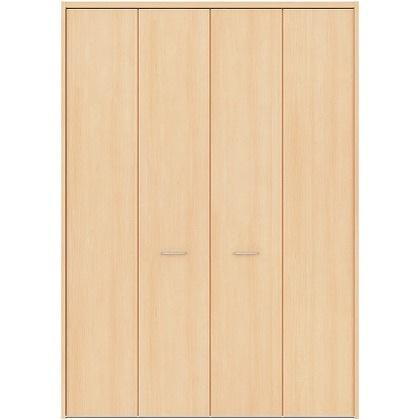 住友林業クレスト フォールディングドア ベリッシュメイプル柄 縦目 7尺タイプ FBAK00M2F17JS01 収納建具 1セット