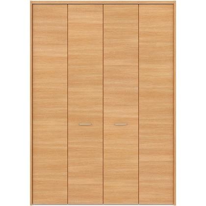 住友林業クレスト フォールディングドア ベリッシュオーク柄 横目 8尺タイプ FBAK01A2F18JS01 収納建具 1セット