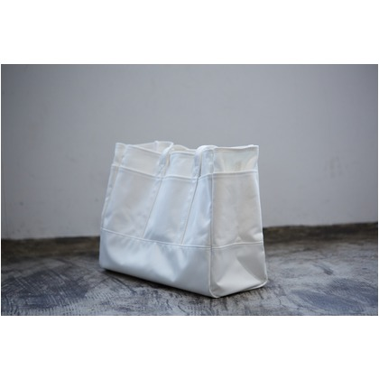 DIY FACTORY Tote bag ホワイト XL DF-04 1個