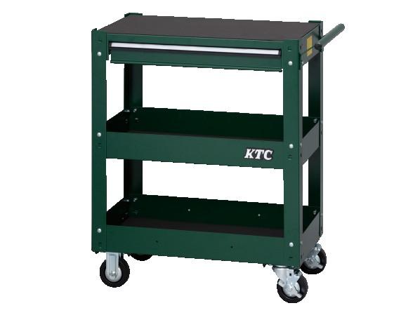 KTC 2019SK 3段ワゴン(グリーン)(特別色) グリーン アタッシュケース SKX2613GR 1個