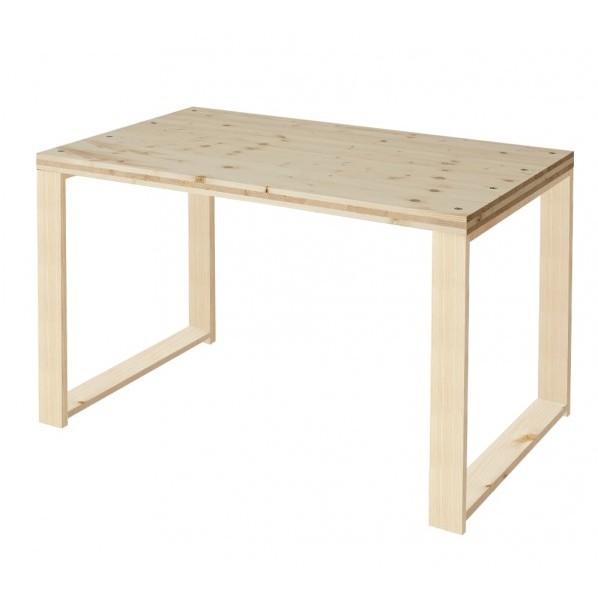 DIY FACTORY Working Desk W1000 クリア塗装 EKDT2A11070