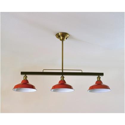 シバタ照明 インダストリアルライト スチール製3灯ペンダントライト 照明プレート 1台