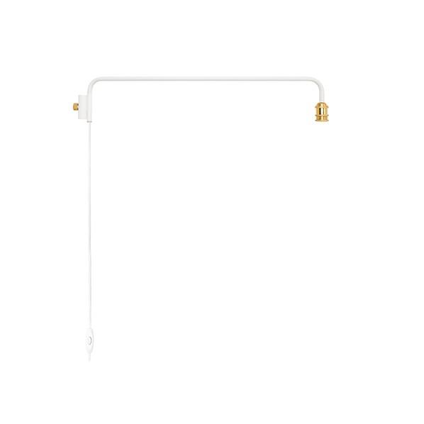 DRAW A LINE(ドローアライン) 202 Lamp Arm L ランプアーム 照明 003縦専用 対応203,204 D-BLL-WH ホワイト 幅91.5x奥行5x高さ16cm D-BLL-WH 1個