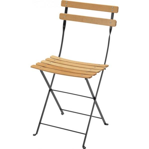 ビストロ ベランダチェア ダークグレー ガーデンテーブル・チェア 650201510 1脚