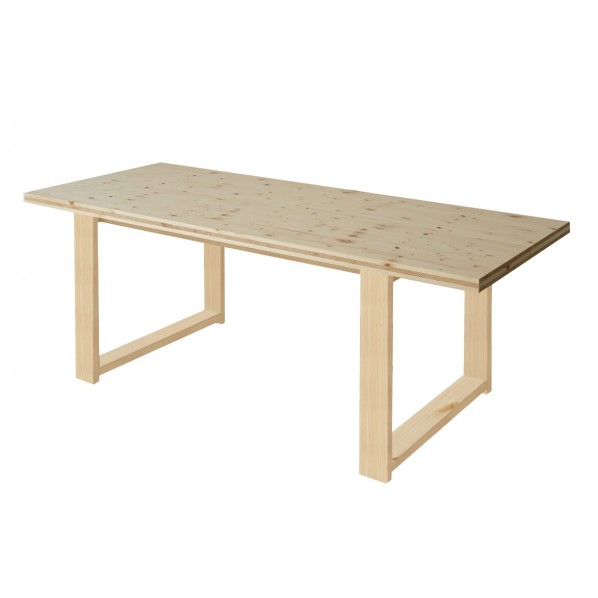 DIY FACTORY Conference Table 天板:クリア塗装 / 脚:クリア塗装 W1600 D800 H700 1セット