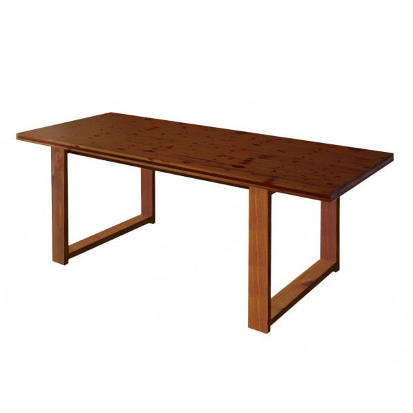 DIY FACTORY Conference Table 天板:ブラウン / 脚:ブラウン W1500 D800 H700 1セット
