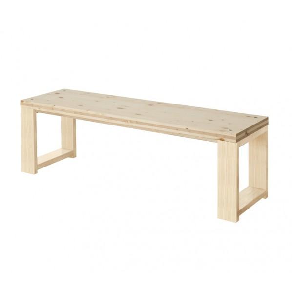 DIY FACTORY Bench 天板:無塗装 / 脚:無塗装 W1300 D400 H430 1セット