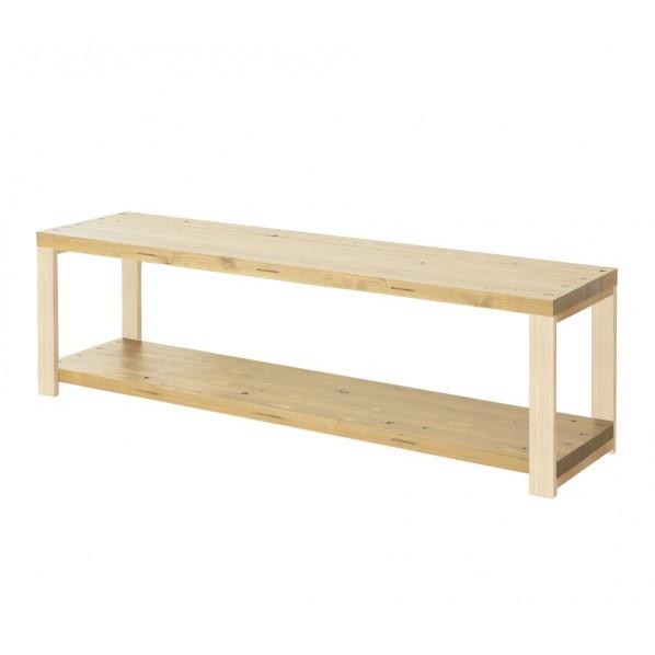 DIY FACTORY AV Board 天板:クリア塗装 / 脚:無塗装 W900 D400 H467 1セット