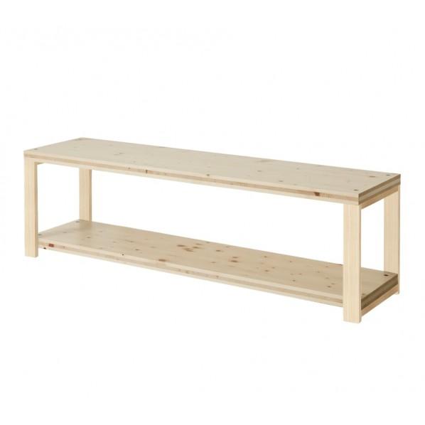 DIY FACTORY AV Board 天板:無塗装 / 脚:無塗装 W1200 D400 H467 1セット