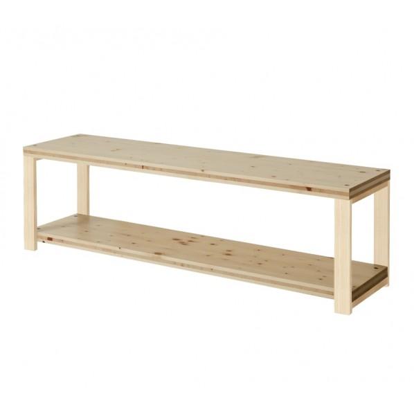 DIY FACTORY AV Board 天板:クリア塗装 / 脚:無塗装 W1100 D400 H467 1セット