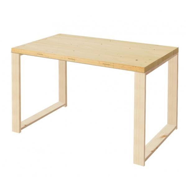 DIY FACTORY Working Desk 天板:クリア塗装 / 脚:無塗装 W1100 D700 H700 1セット