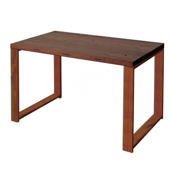 DIY FACTORY Working Desk 天板:ブラウン / 脚:ブラウン W800 D700 H700 1セット