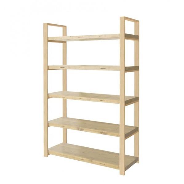 DIY FACTORY Wooden Shelf High クリア塗装 EKSS2A20418