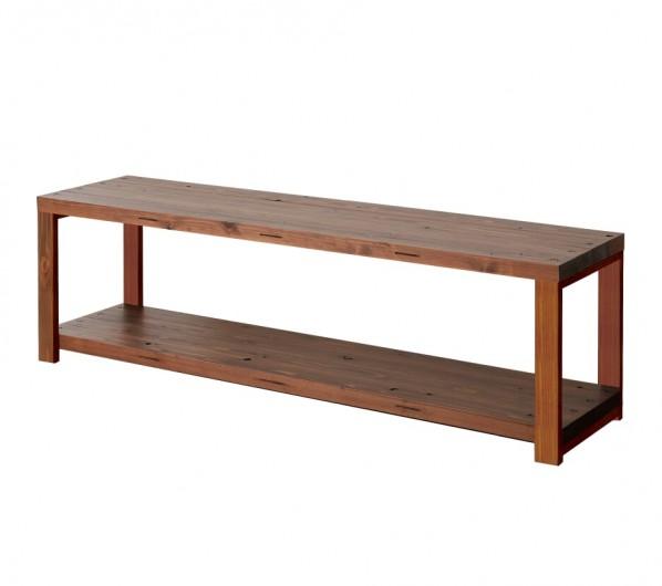 DIY FACTORY AV Board 天板:ブラウン / 脚:ブラウン W1600 D400 H467 EKAS3A31640 1セット