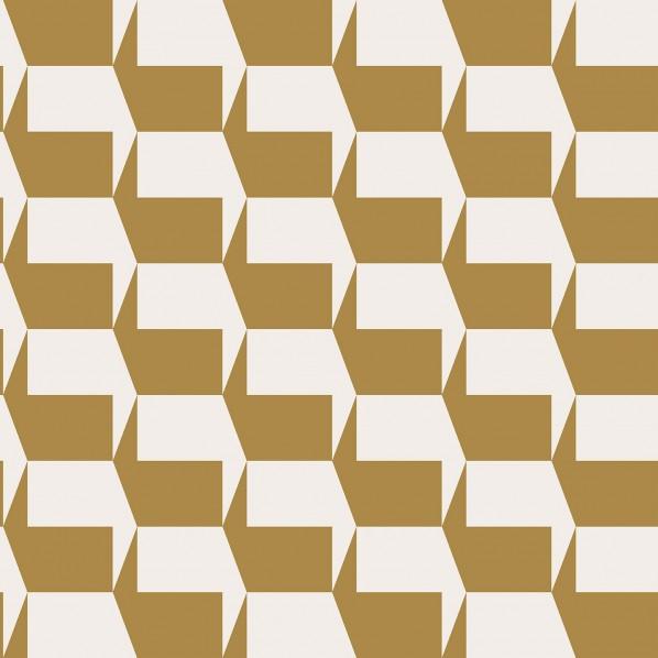 テンペーパー TEMPAPER 貼ってはがせる壁紙シール ジオ マリーゴールド 幅:52cm 長さ:10m GI550 1本