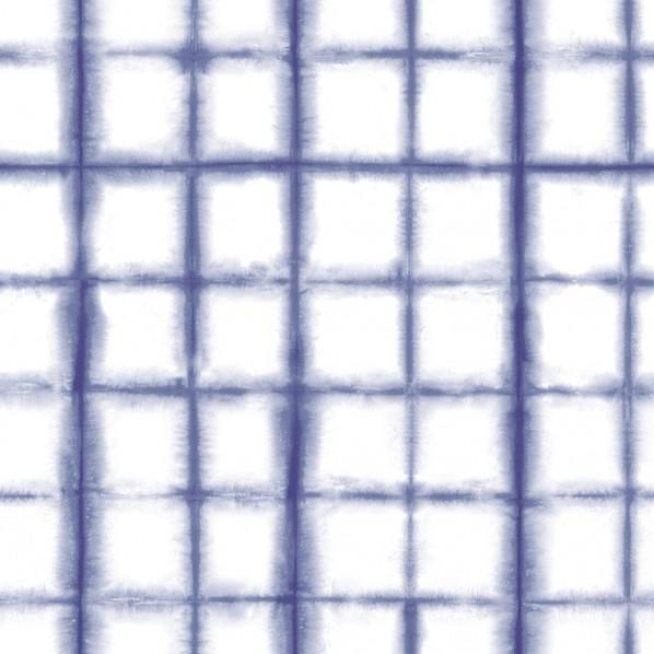 テンペーパー TEMPAPER 貼ってはがせる壁紙シール シボリ インディゴ 幅:68.5cm 長さ:8.2m SH541 1本