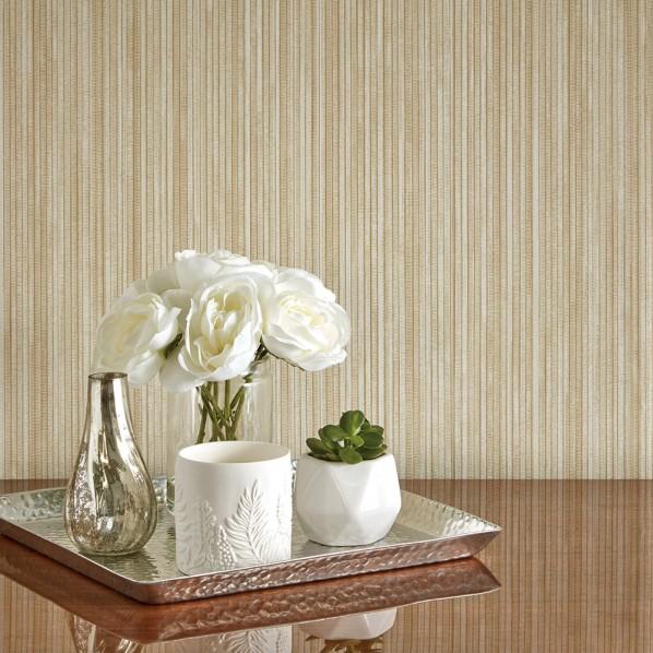 テンペーパー TEMPAPER 貼ってはがせる壁紙シール グラスクロス サンド 幅:52cm 長さ:10m GR533 1本