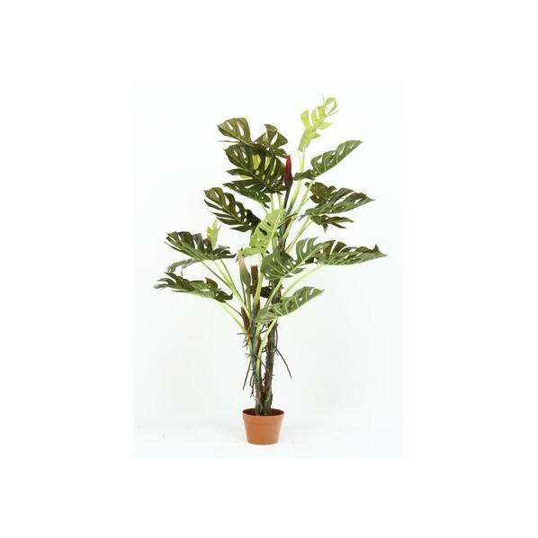 フジボウエキ 観葉植物 スプリット 22 グリーンデコ鉢付 グリーン 52667 17619 1台
