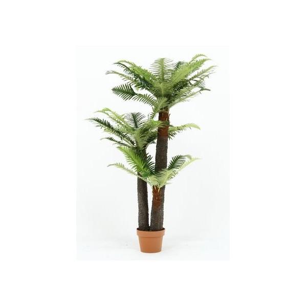 フジボウエキ 観葉植物 シダ 43 グリーン グリーンデコ鉢付 52678 15135 1台