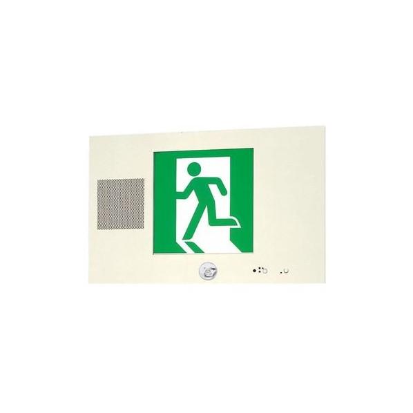 パナソニック LED誘導灯コンパクトスクエア 一般型(20分間) 壁埋込型 片面型 B級・BL形(20B形) 幅(cm):48.0.高(cm):30.0.出しろ(cm):1.3 FA20305LE1 1個
