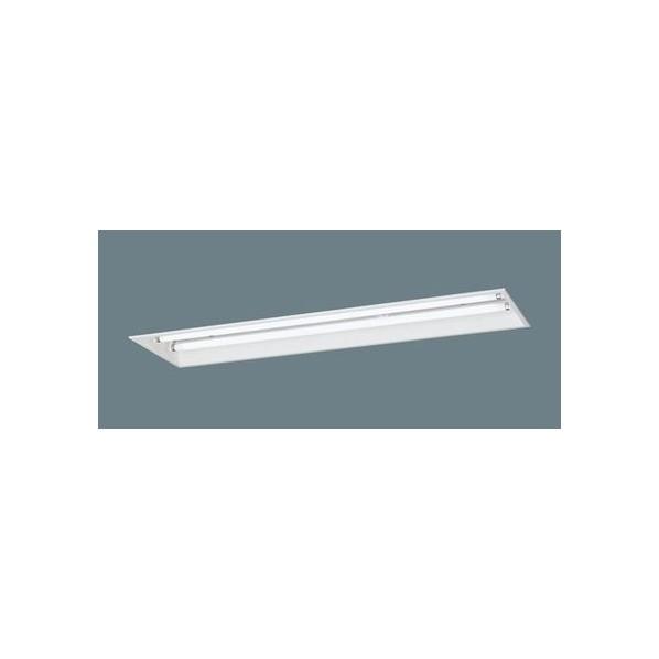パナソニック リニューアル用 天井埋込型 蛍光灯 ベースライト(非常用) 下面開放・電源別置型 Hf蛍光灯32形高出力型×2灯 幅(cm):32.8.長(cm):127.4 FSB42725JVPH9 1個