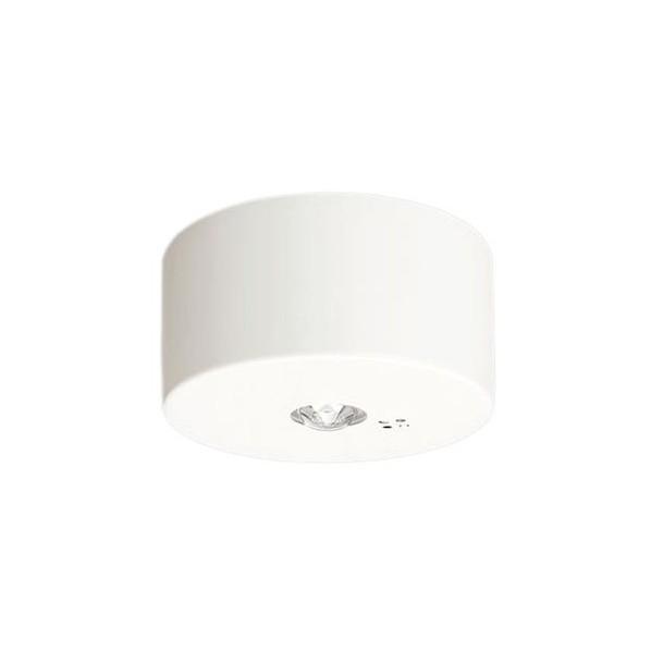 パナソニック 天井直付型 LED(昼白色) 非常用照明器具 長時間定格型(60分間) リモコン自己点検機能付 幅(cm):φ15.5.高(cm):7.5 NNFB91085J 1個