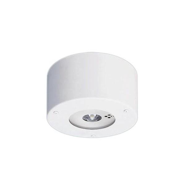 パナソニック 天井直付型 LED(昼白色) ダウンライト(非常用) 一般型(30分間) 防湿型・リモコン自己点検機能付 幅(cm):φ19.5.高(cm):13.4 NNFB93106J 1個