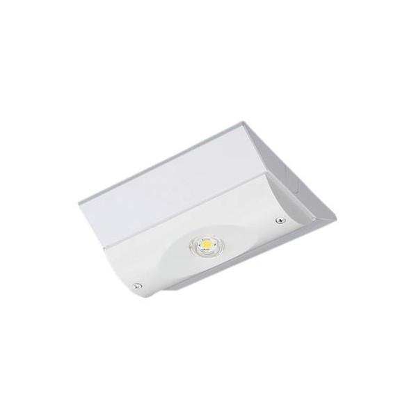 パナソニック 天井直付型 LED(昼白色) 非常用照明器具 予備電源別置型・LED低~中天井用(~6m) 幅(cm):15.0.長(cm):18.0.高(cm):5.3 NNLG01515 1個