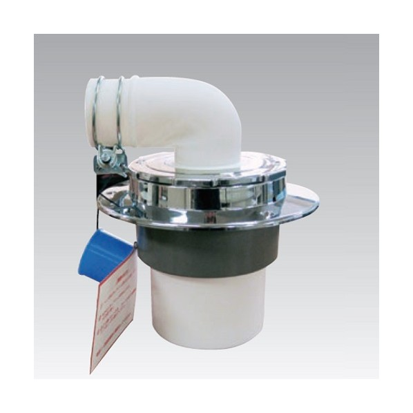 アウス 洗濯機用床排水トラップ(VP・VU兼用) D-SPM-PU 75 1個