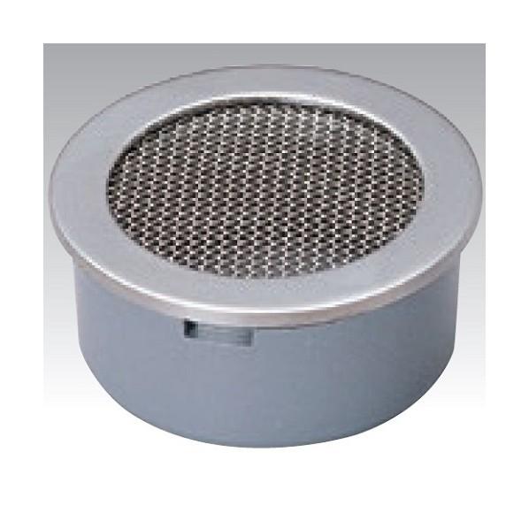 アウス ステンレス製防虫目皿(VP・VU兼用) D-3BVS-PU 75 1個
