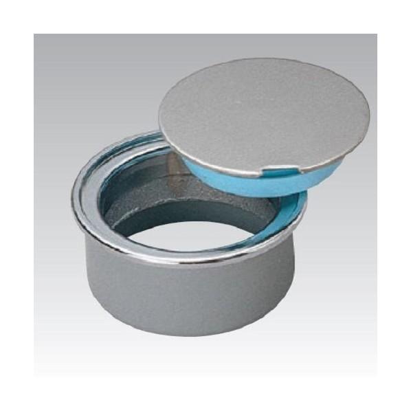 アウス ワンプッシュ式掃除口(VP・VU兼用) D-COV-N-PU 125 1個