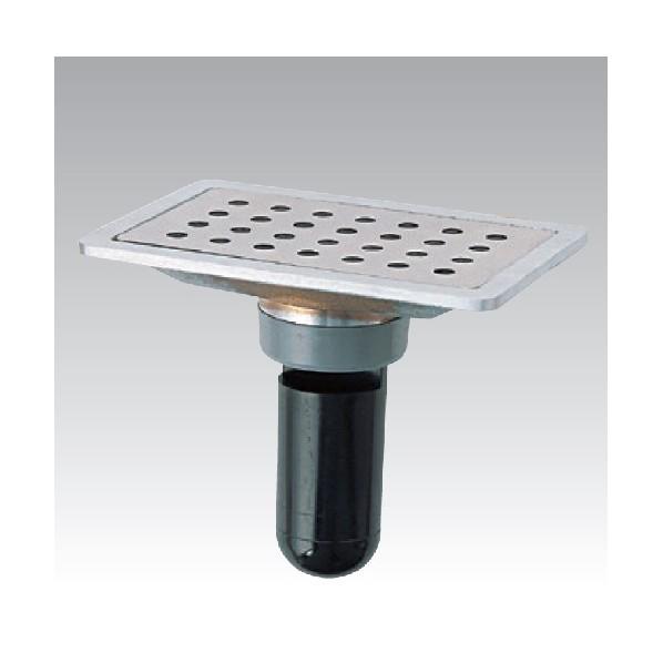 アウス スーパートラップ付角目皿(VP・VU兼用) D-STDK-PU 100x200x50 1個