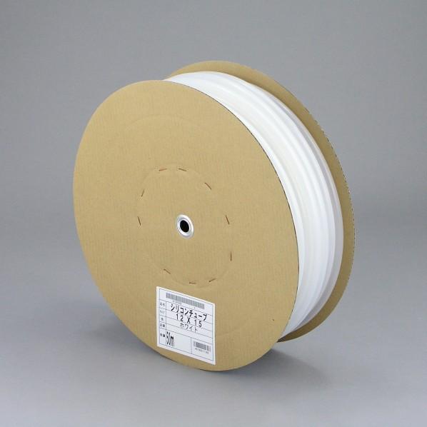 三洋化成 シリコンチューブ ドラム巻 ホワイト 12mm×15mm×50m ST-1215D 50W 1個