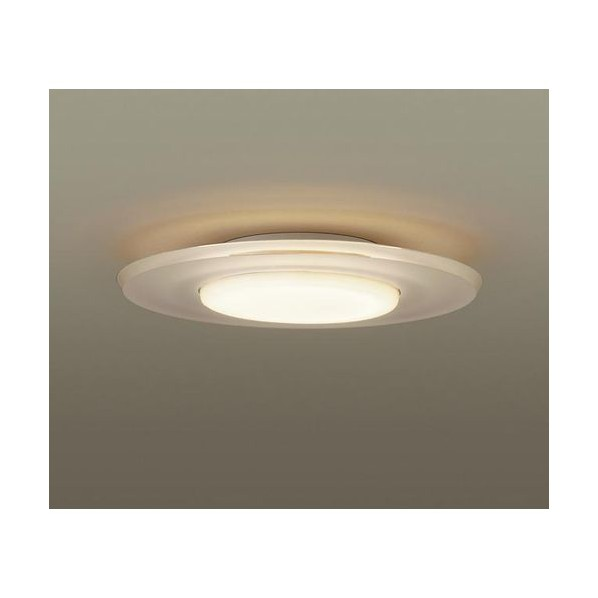 パナソニック LEDシーリングライト60形電球色 高さ×幅×奥行(cm):5.8×26×26.4 LGB51777LG1 1台
