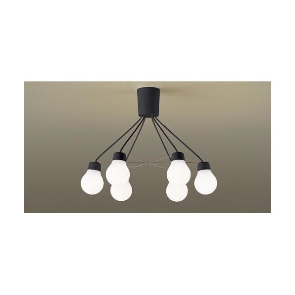 パナソニック LEDシャンデリア60形X6温白色 高さ×幅×奥行(cm):14.8×32×63.3 LGB57629BCE1 1台
