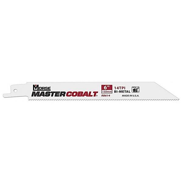 M.K.モールス マスターコバルト・メタル・バイメタル・セーバーソー・ブレード (金属用) RB818T50 50枚