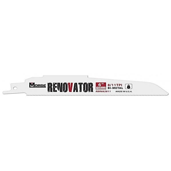 M.K.モールス レノベーター・バイメタル・セーバーソー・ブレード (リフォーム・解体用) RBR1262811T20 20枚