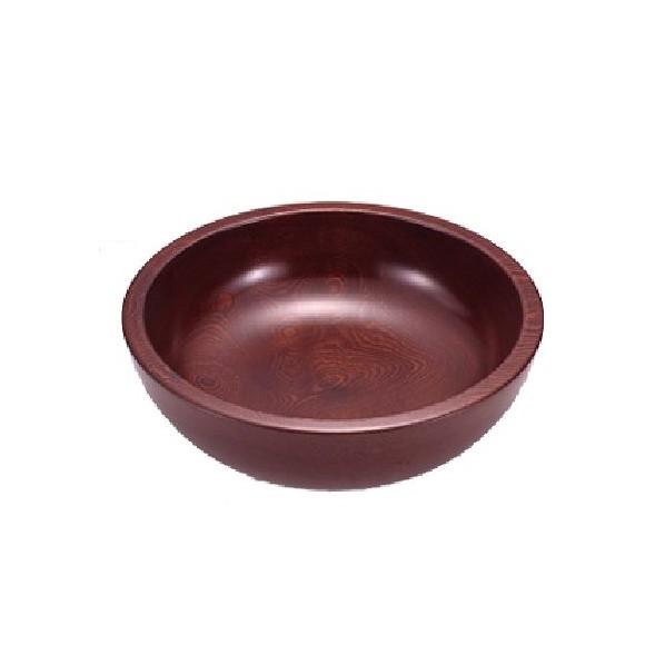 有限会社ナガノ産業 漆塗こね鉢 なつめ 尺四 42cm 2306 1個