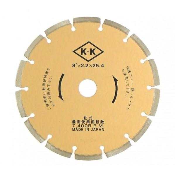関西工具製作所 乾式ダイヤモンド・ブレード Dタイプ D0B0D08250 1枚