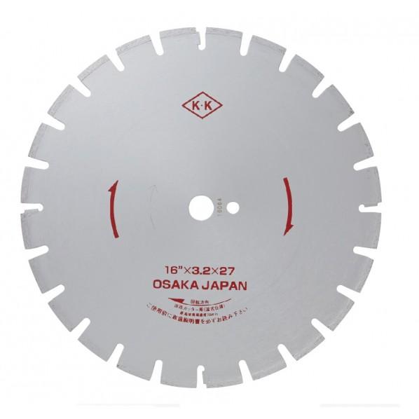 関西工具製作所 湿式ダイヤモンド・ブレード Wタイプ D0B0W16000 1枚