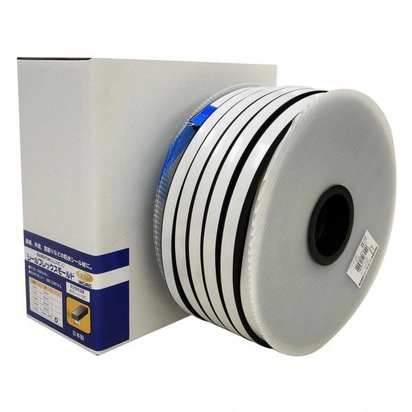 イノアックコーポレーション 低反発EPDMゴムスポンジ シールフレックスモールド 黒 厚さ:13mm幅:18mm長さ:25m SFM-007 1個