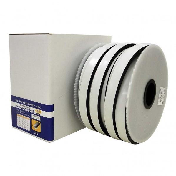 イノアックコーポレーション 低反発EPDMゴムスポンジ シールフレックスモールド 黒 厚さ:10mm幅:30mm長さ:25m SFM-008 1個